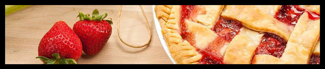 Delectable Desserts: Fresh Strawberry Pie
